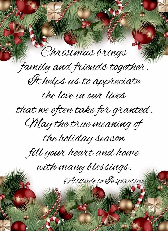 Merry Christmas Wishes Friends And Family