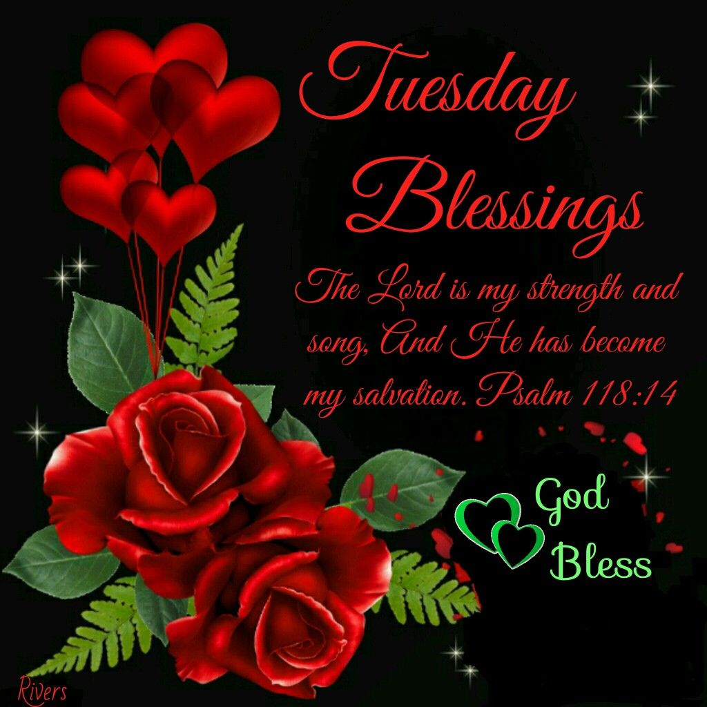 Blessings Tuesday Morning Quotes