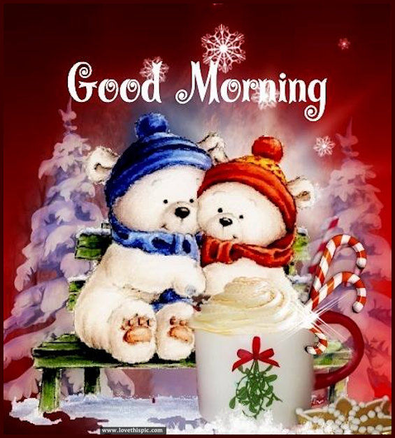 Cute Christmas Good Morning Image Quote Pictures, Photos ...