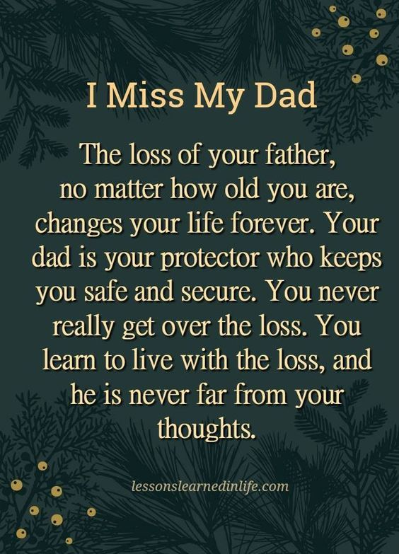 Dad Quotes Miss My Heaven I