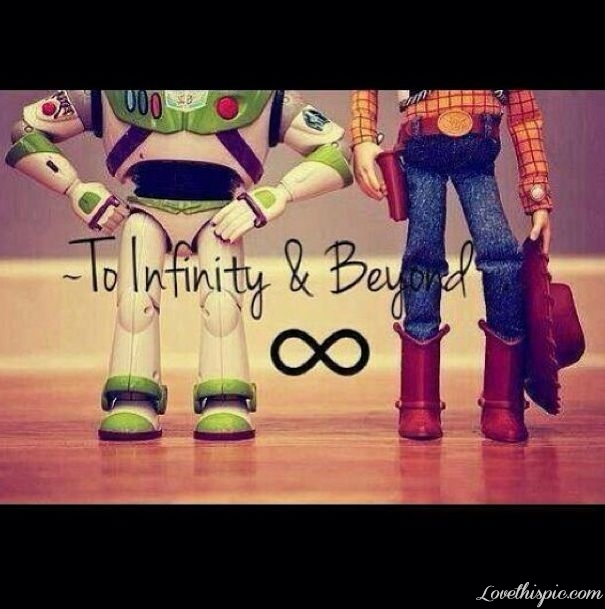 Love You Infinity And Beyond Quote
