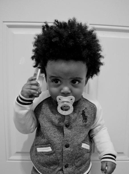Cute Black Boys Swag Baby