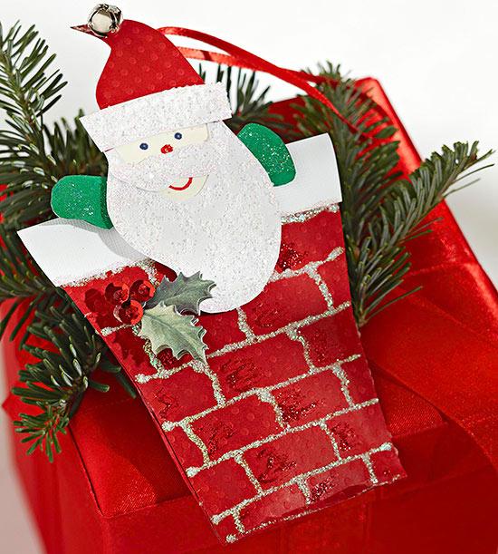 Decorations Santa Claus Cardboard