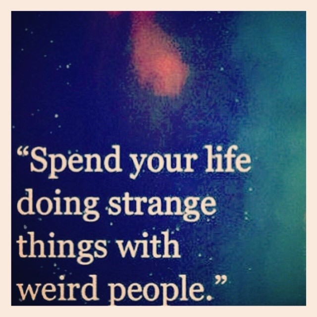 Quotes Strange About People