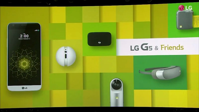 Mwc 2016 Lg Unveils Companion Devices For G5 Vr Goggle