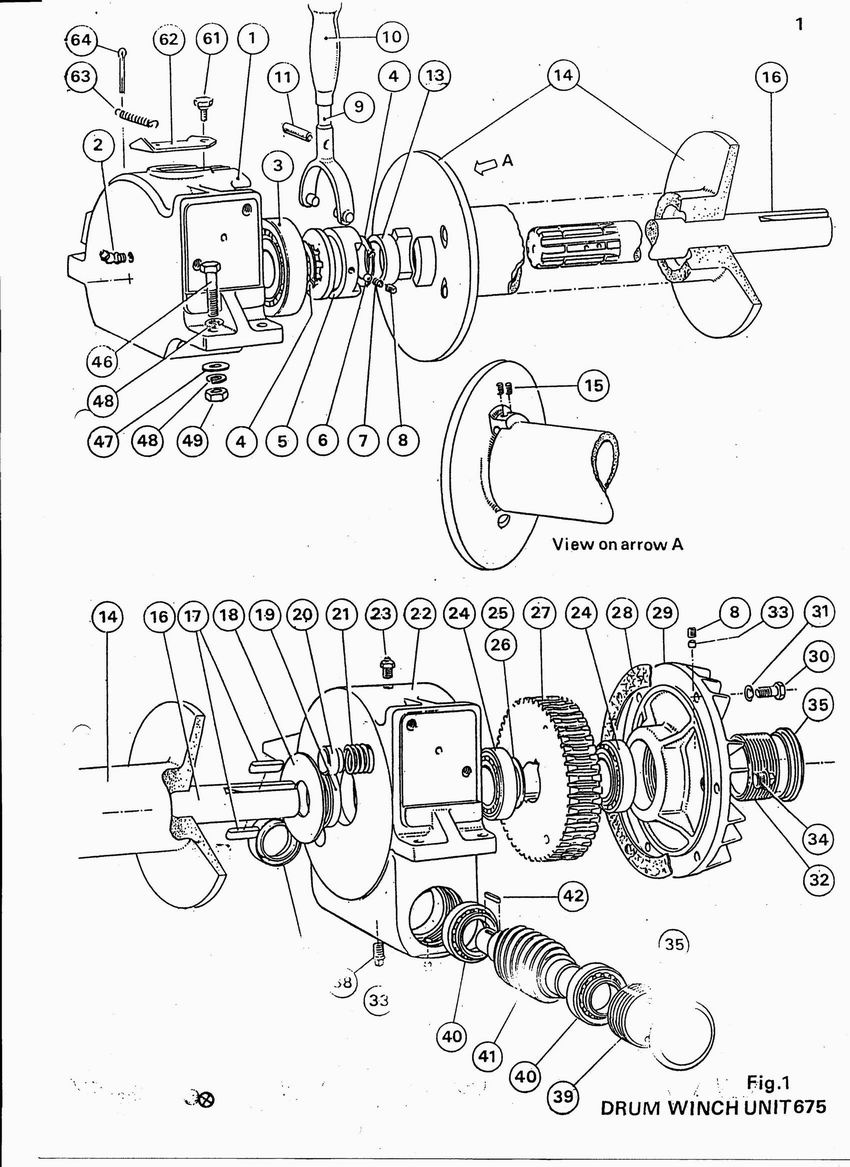 Series land rovers options lr drum winch part 6920 page 2