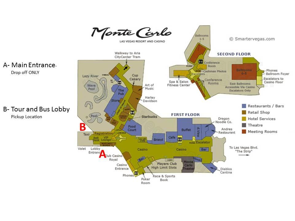 Mirage Las Vegas Floor Plan