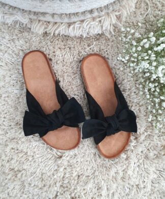 Pantolette Boucle – black