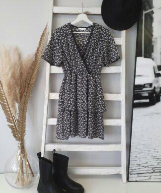Kleidchen LACE AND FLOWERS – schwarz