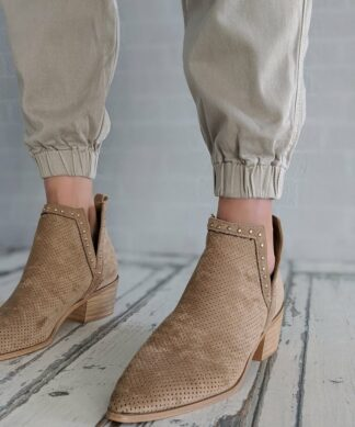 Stiefelette NEVER LET GO – beige