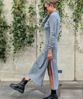 Rollkragenkleid FEELING FINE – versch. Farben – SALE