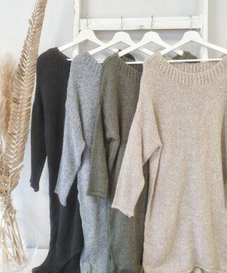 Long-Pullover STUNNING – versch. Farben – SALE