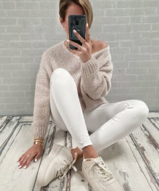 Skinny Jeans CHARLY – white
