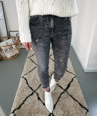 Momjeans LIA CLEAN – faded grey