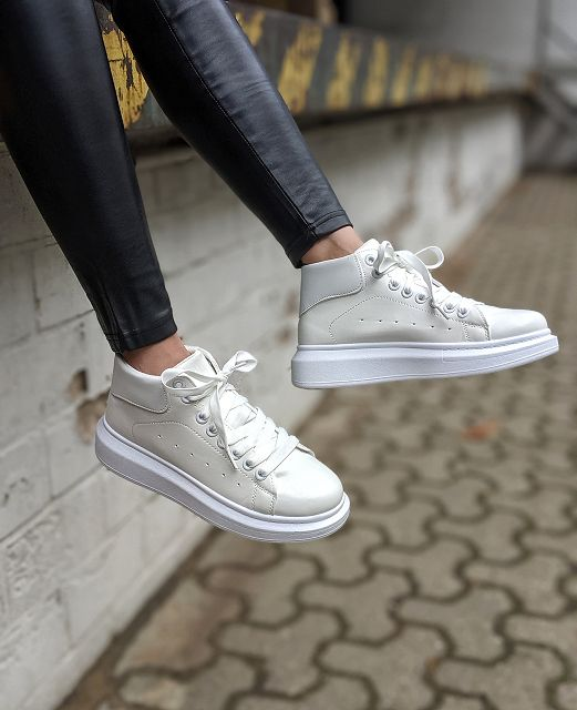 Sneaker TOUCH OF WHITE – HIGH – SALE