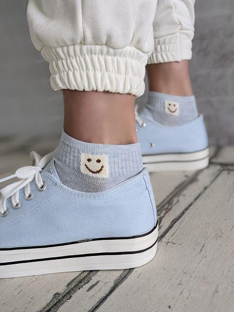 Sneakersocken SMILE – versch. Farben