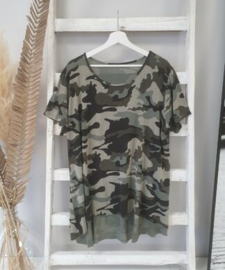 Shirt LAYER TEE – CAMOUFLAGE
