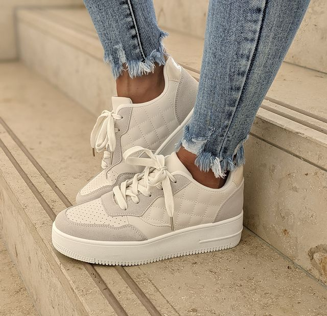 Sneaker WAFFLE – faux leather