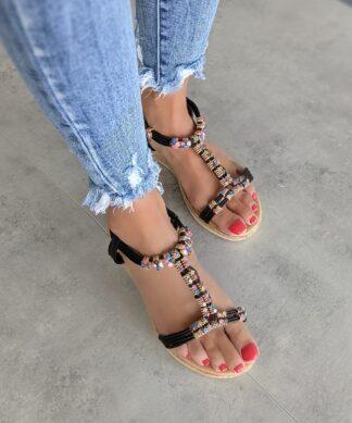 Sandale Phuket-schwarz