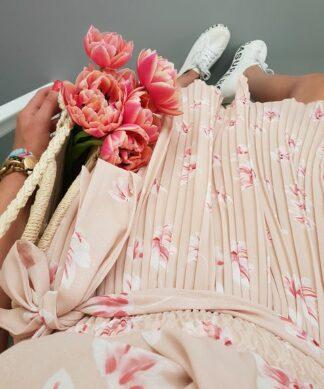 Kurzes Kleid FLOWER CHILD