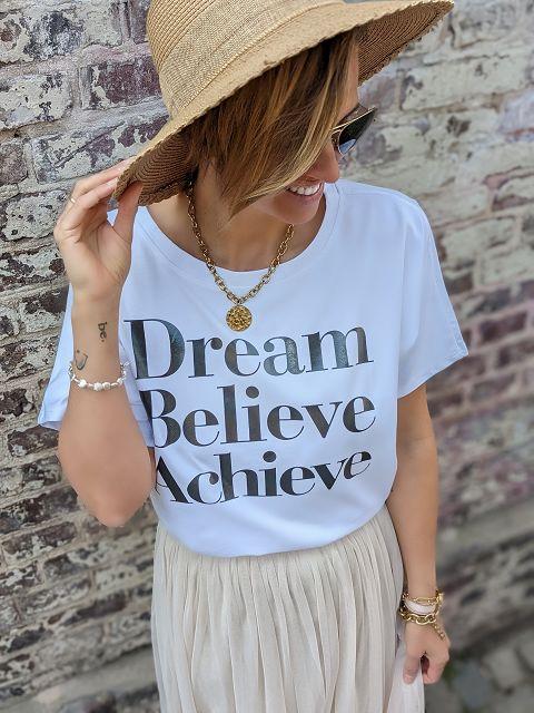 Shirt DREAM BELIEVE ACHIEVE