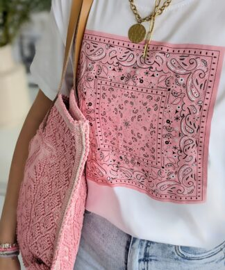 Shirt Patched Paisley