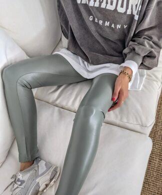 Leggings ATTRACT – dark matcha