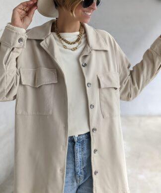 Hemdjacke aus Sweatstoff – versch. Farben