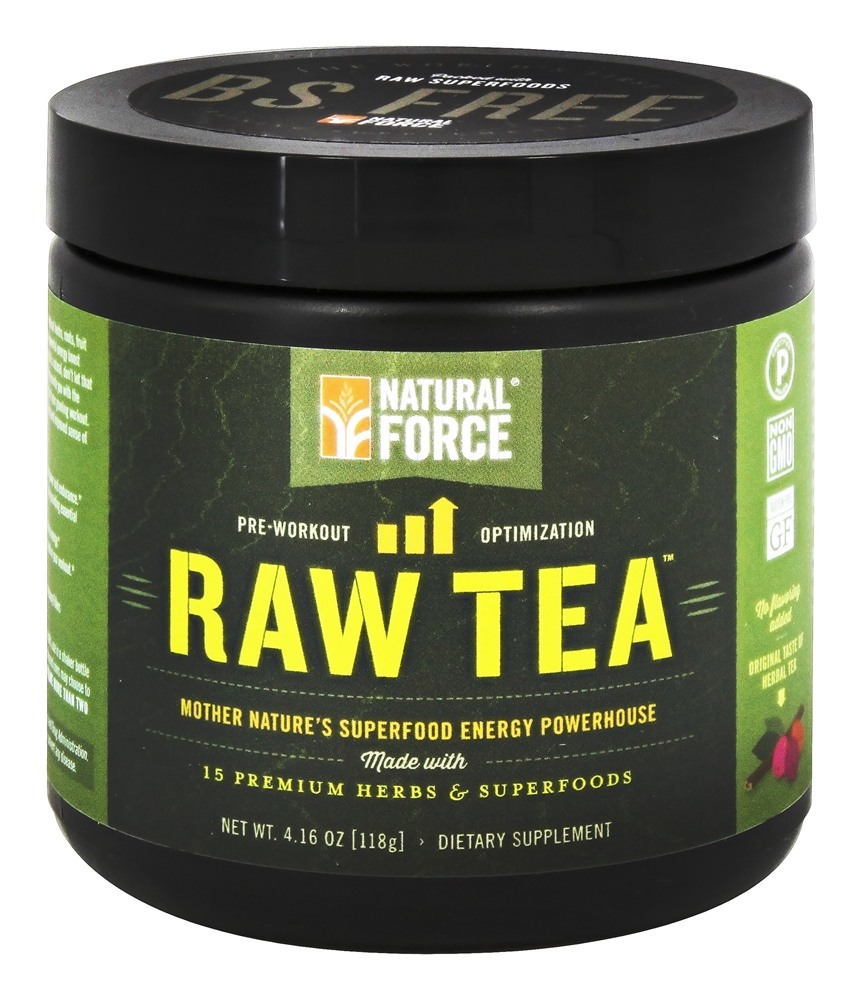Buy Natural Force - Raw Tea Pre-Workout Unflavored - 0.26 ...