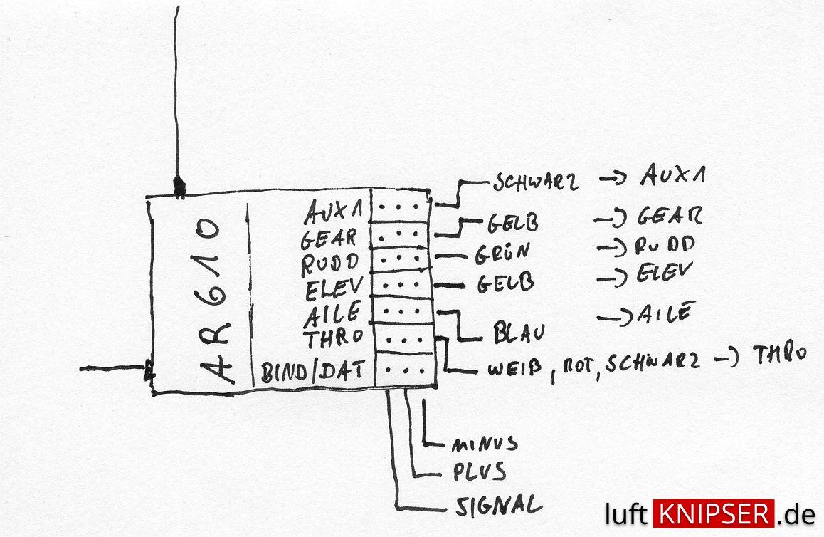 Cc3d Wiring To Ar610 Receiver Schematics Diagram Openpilot Tricopter