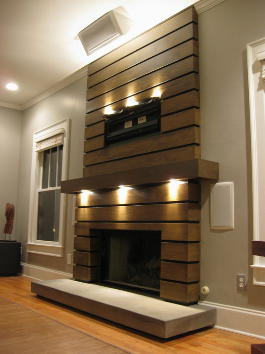 Slatted Fireplace Surround And Mantle By Ben Robinson