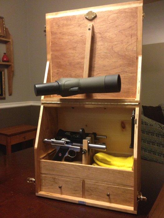 Box Gun Pistol Range Ho