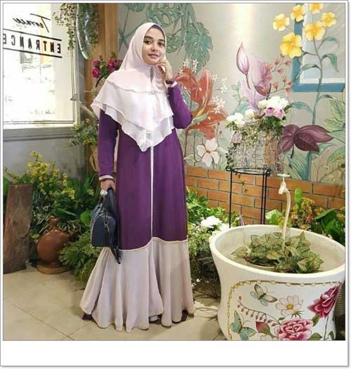 Image Result For Model Gamis Polos Aplikasi
