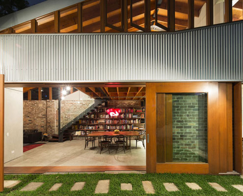 A Former Cowshed Is Transformed Into A Modern Home