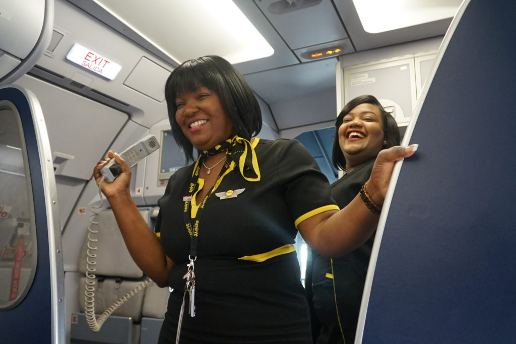 Spirit Airlines Flight Attendant Uniforms