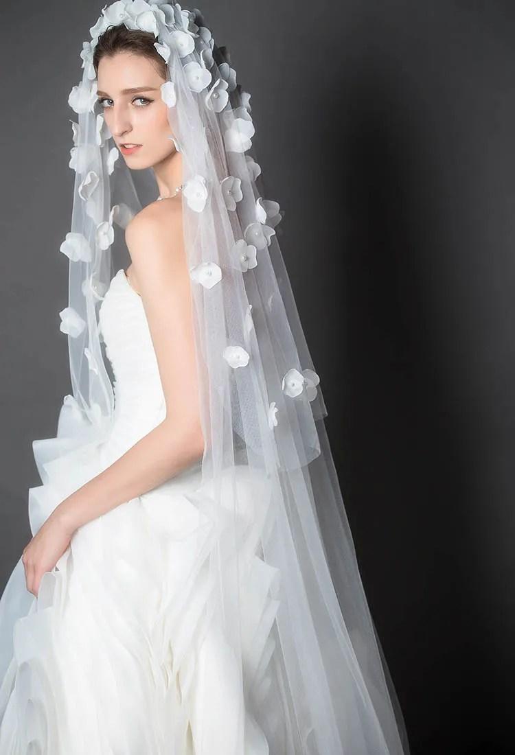 Long Bridal Veil Flower