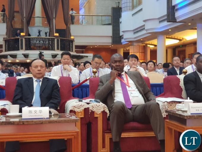 Zambia   China is an all weather friend Lusambo Lusaka Province Minister Bowman Lusambo following proceedings at the 3rd  Western China Public Procurement Conference during
