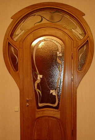 Cherry Wood Doors For Interior Decorating Stylish