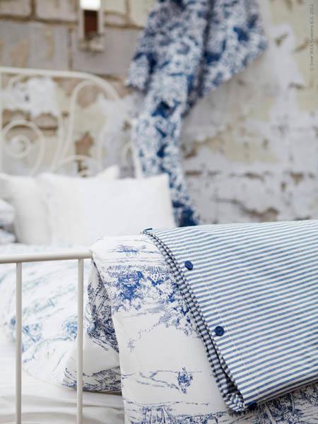 New Decorating Fabrics From Ikea Striped Fabrics And