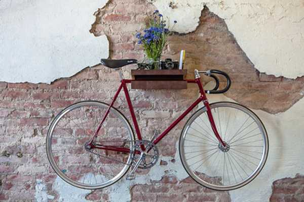 Decorative Ways to Store Bikes Indoor Adding Unusual Accents to     Interior design and decorating with bike racks