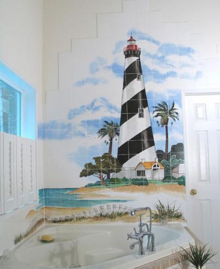Simple Ceramic Tile Painting Ideas Adding Artworks To