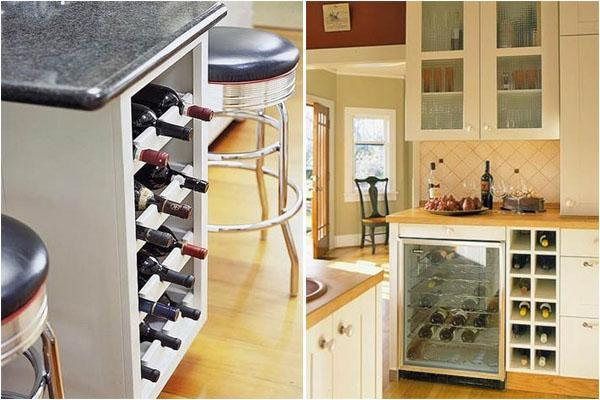 25 Modern Ideas For Wine Storage In Your Kitchen And