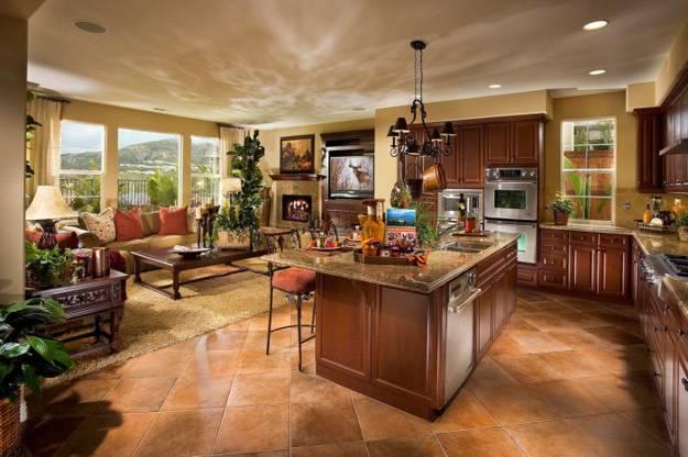 Kitchen Floor Plans Peninsulas