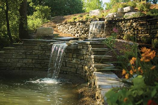 22 Beautiful Waterfalls For Natural Backyard And Front