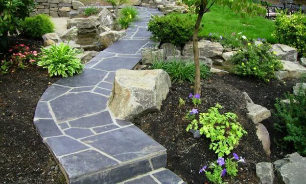 Large Decorative Rocks Garden