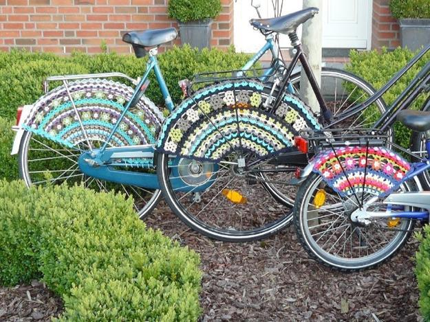 35 Modern Ideas for Crochet Designs  Latest Trends in Decorating Bike decorating with crochet patterns  latest trends
