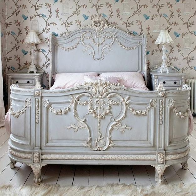 22 Classic French Decorating Ideas for Elegant Modern Bedrooms in     French decorating ideas for modern bedrooms