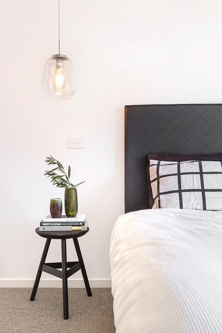 Warm Color Accents Adding Interest To Black And White
