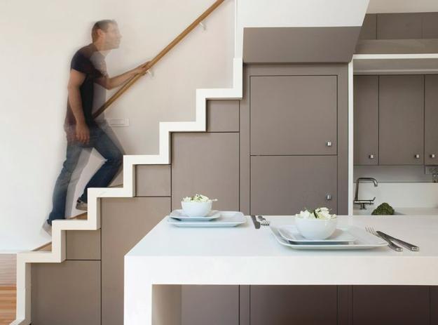 25 Space Saving Ideas Under Staircase Storage Solutions | Kitchen Under Stairs Design | Stair Case | Wet Bar | Basement Stairs | Living Room | Basement Kitchenette