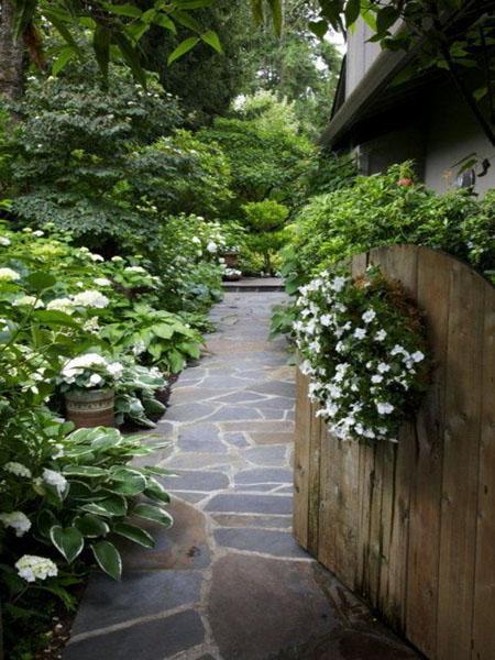 Beautiful Garden Design Optical Illusions Balancing Yard